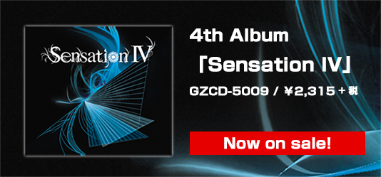 4th Album「Sensation IV」リリース